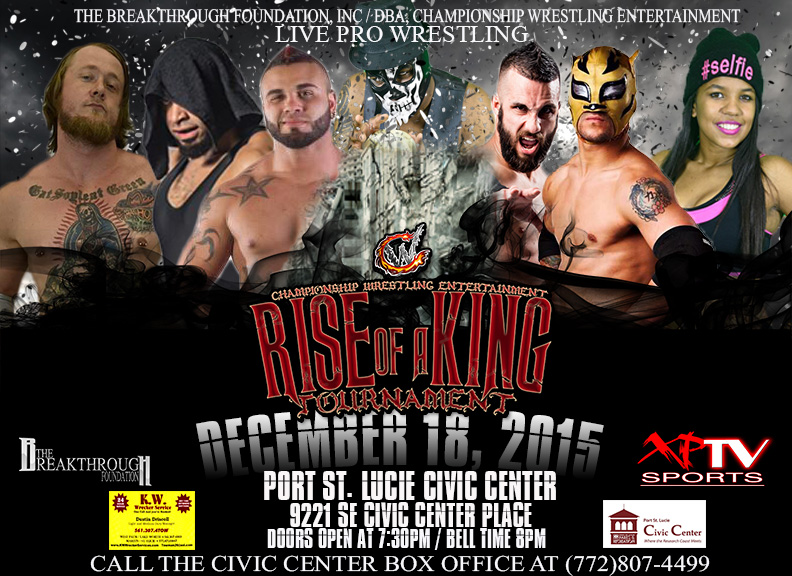 RISE OF A KING DEC 18th Flyer